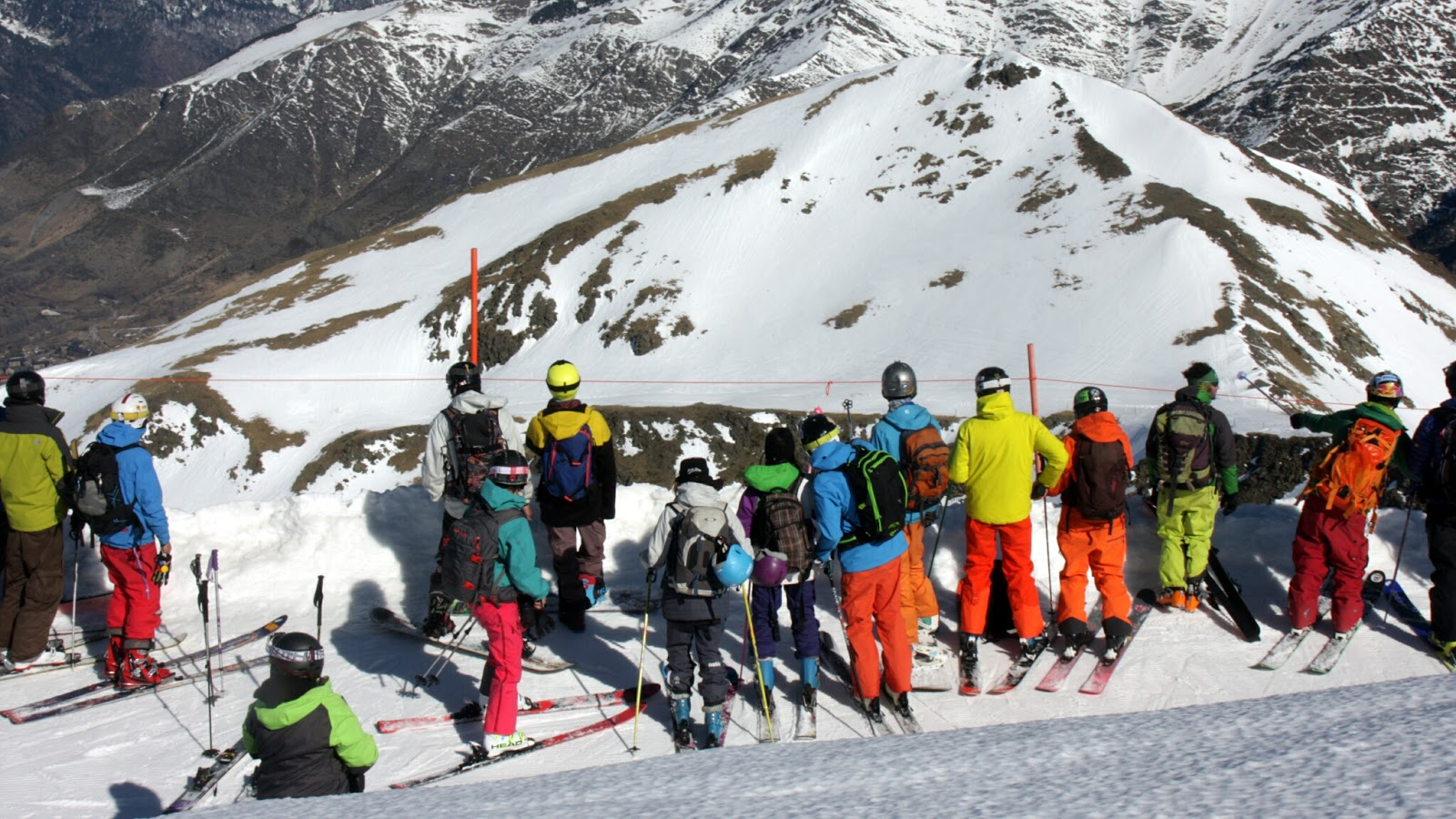 Visita al Valle de Boi…Día de competición!.