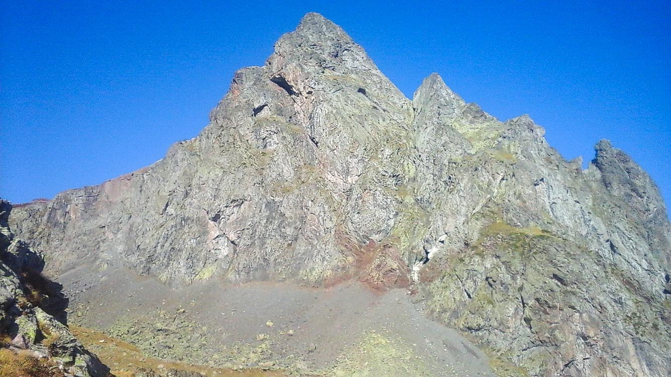 «Sueños de verano», escalada al Pico Anayet.