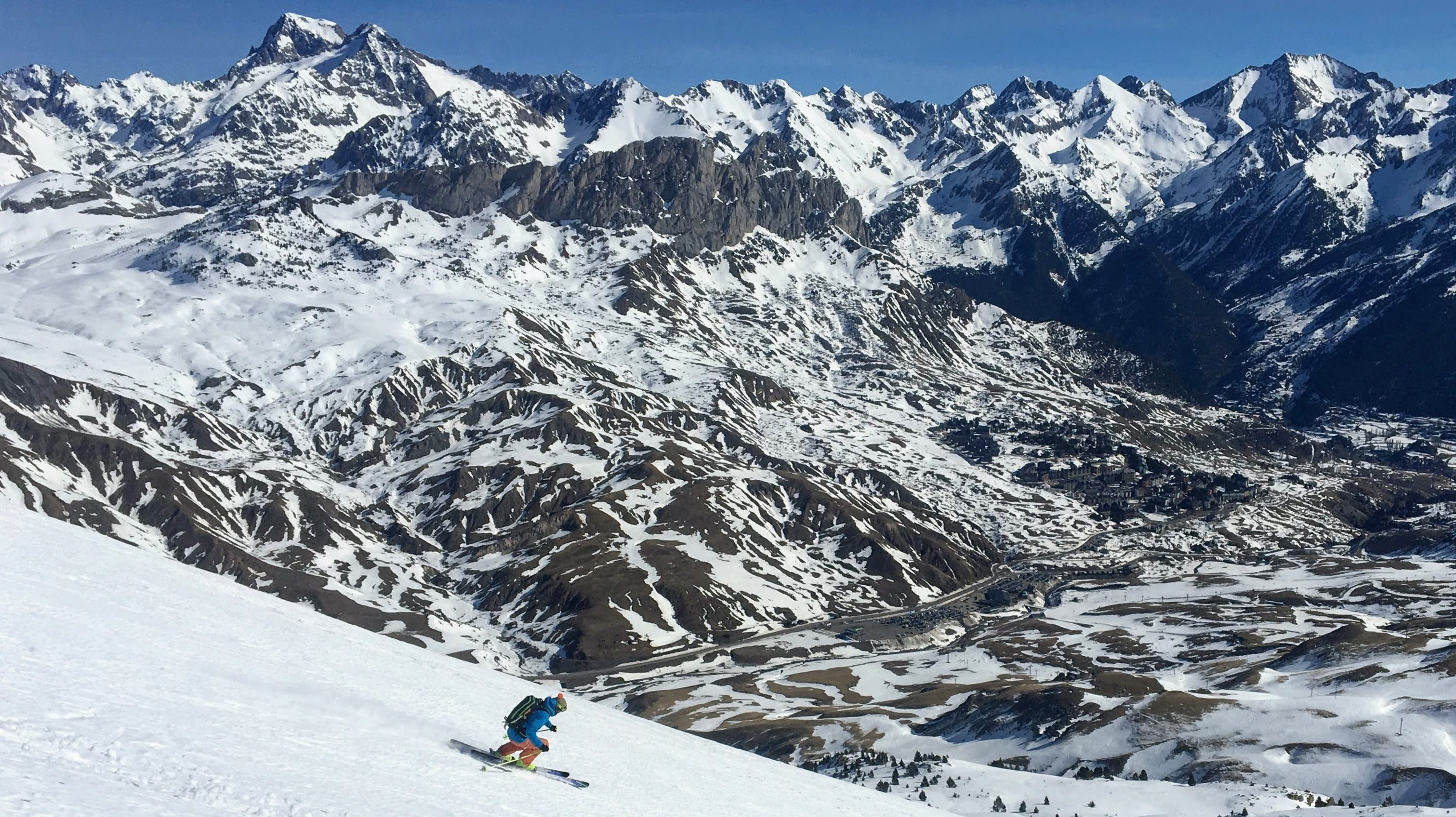 Freeride en Formigal: ascensiones.